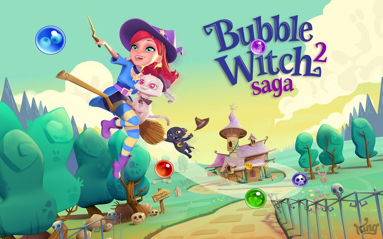 La forma más fácil, cómoda y barata de comunicarte con tus amigos . King . Bubble Witch Saga 2