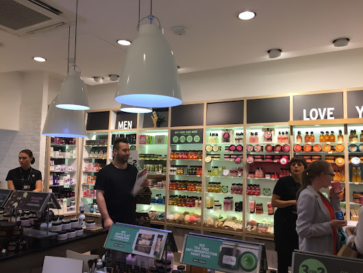 Body Shop Event in Nottingham