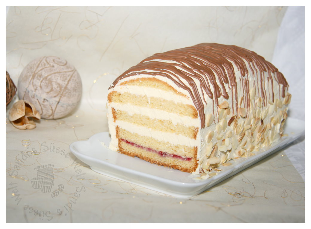 Sandi S Susse Welt Eierlikor Marzipan Kuchen