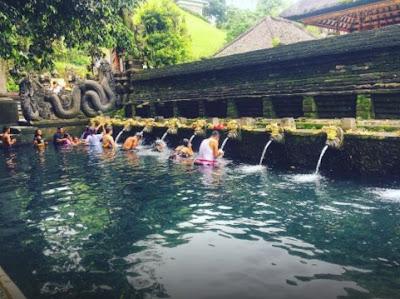 Kolam Renang Alamai Taman Tirta Gannga