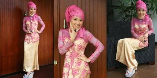 Inspirasi Model Kebaya Hijab Modern Pesta Terbaru 2017
