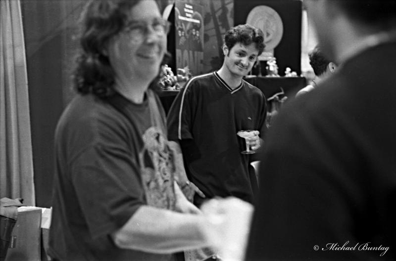 Charles Vess and Jeff Smith, San Diego Comic-Con International 2000