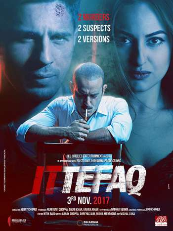 Ittefaq 2017 300MB Hindi Movie 480p HDRip watch Online Download Full Movie 9xmovies word4ufree moviescounter bolly4u 300mb movie