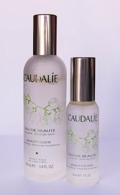 Agua de belleza de Caudalie en tamaño 100 ml. y 30 ml.