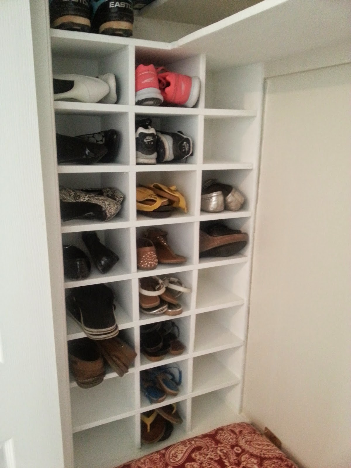 Good Times Entryway Closet Makeover