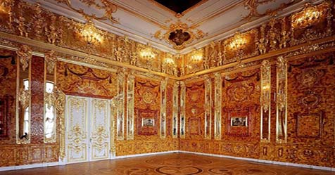 Amber Room the Golden Legend House