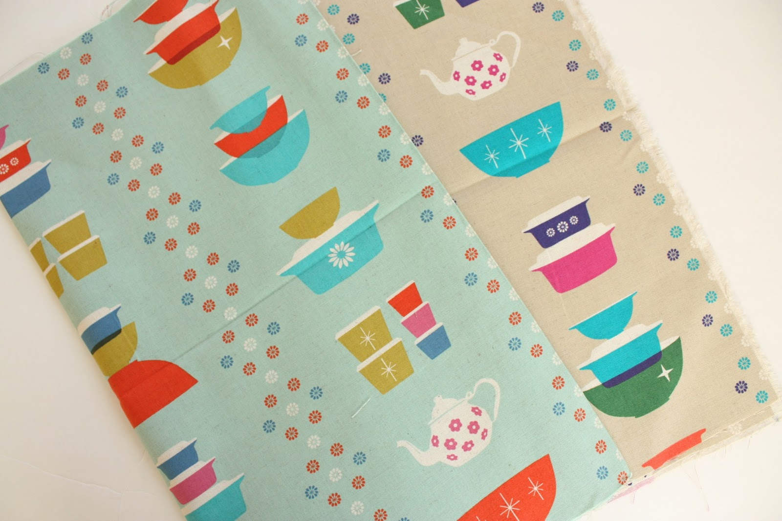 Vintage Pyrex And Fabric Inspiration Diary Of A Quilter