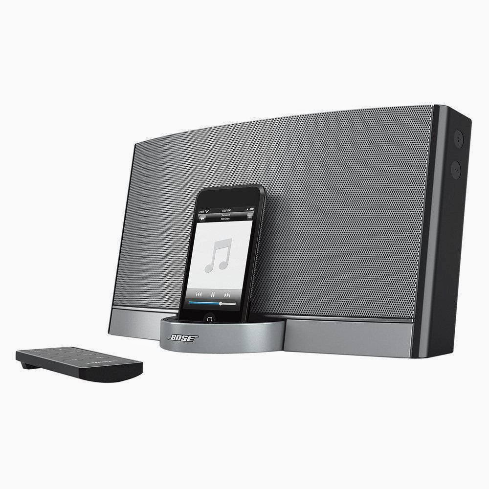 best bose sounddock portable 30 pin ipod iphone speaker. Black Bedroom Furniture Sets. Home Design Ideas