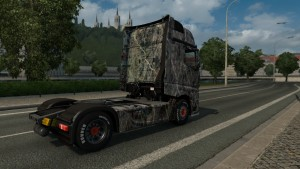 Mercedes Actros 2014 Marble skin