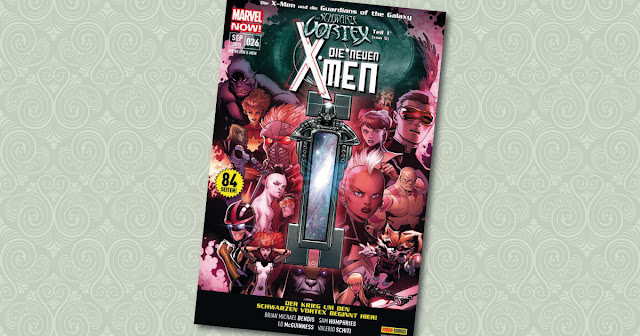 Die neuen X-Men 26 Black Vortex Cover