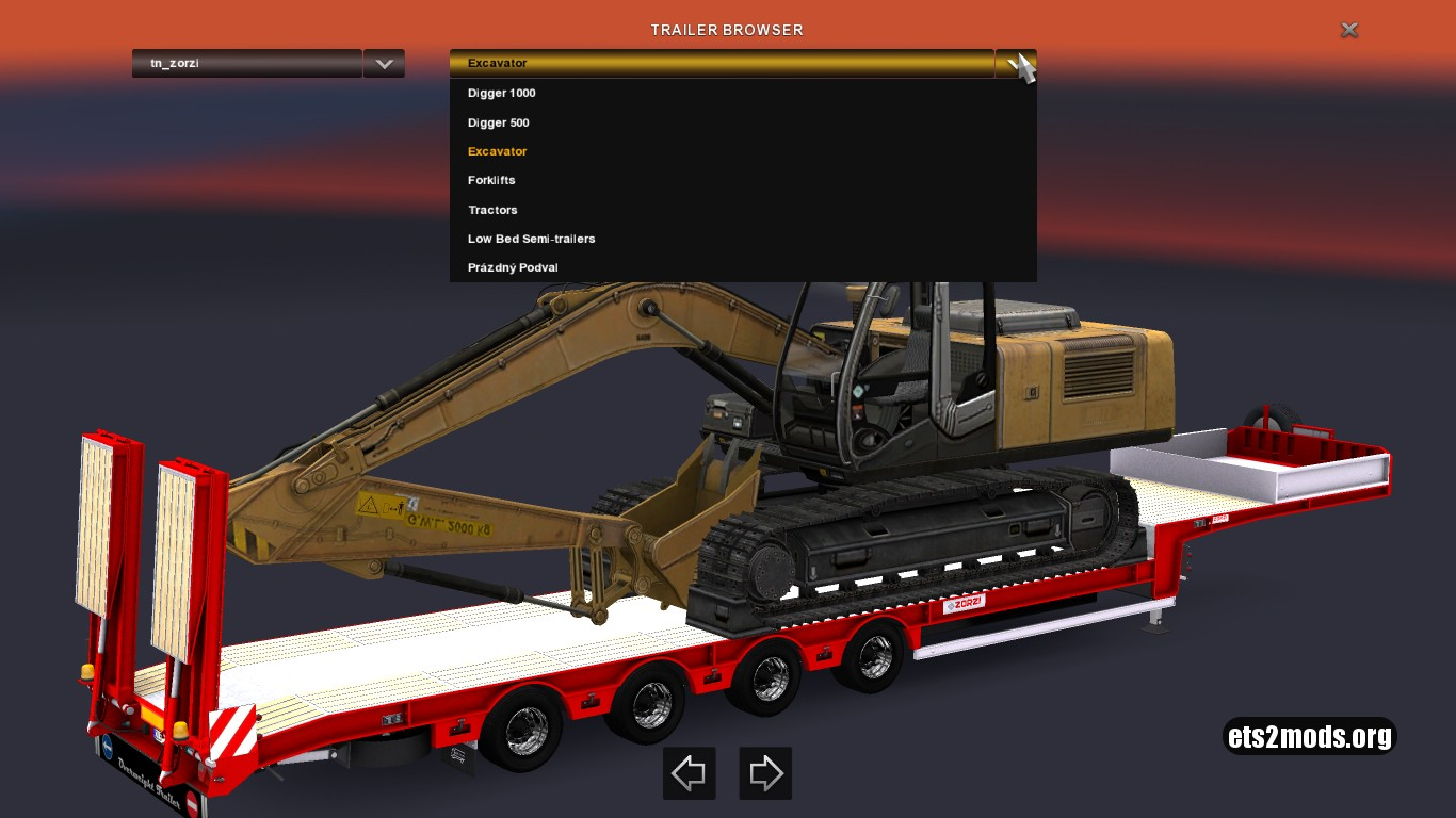 Platform Trailer ZORZI Pack