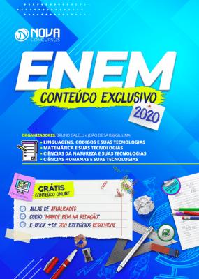 Apostila ENEM 2020 Grátis Curso Online, Aulas de Atualidades e E-book de Questões Resolvidas