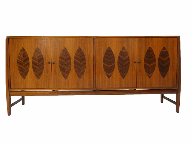 Kipp Stewart for Calvin Furniture Teak & Rosewood Sideboard American Design Foundation
