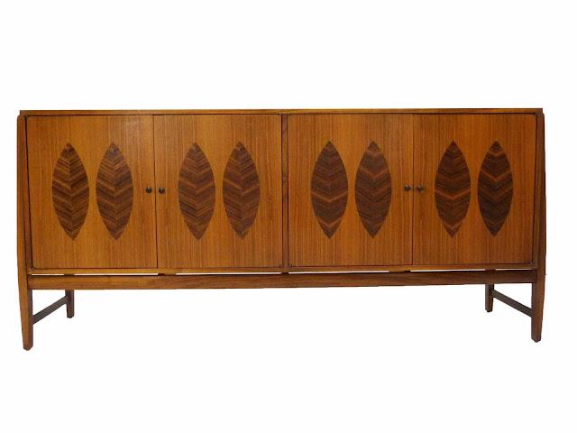Kipp Stewart for Calvin Furniture Teak & Rosewood Sideboard American Design Foundation