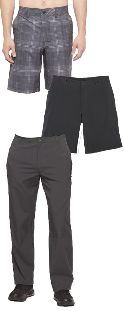 Men's budget travel pants