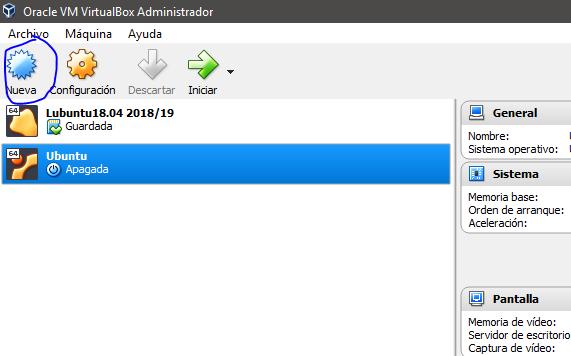 descargar sistema operativo ubuntu para virtualbox