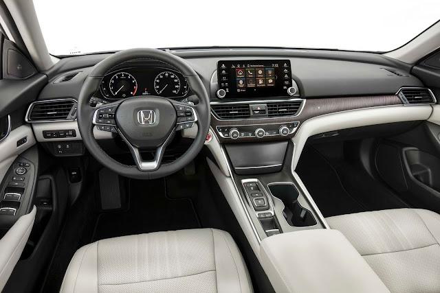 """Novo Honda Accord é premiado como """"Carro do Ano da América do Norte 2018"""""""