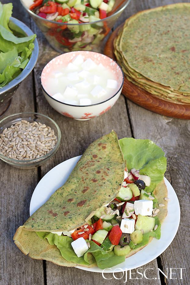 Szybki Obiad Zielone Nalesniki Zdrowe Przepisy Pauliny Stys