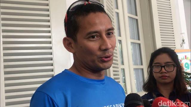 Sandiaga Tak Akan Laporkan Oknum yang Potong Video Pidato Anies