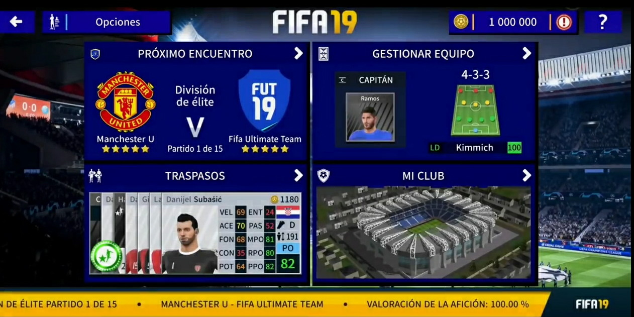 Dream League Soccer DLS 19 MOD FIFA 19 For Android Offline