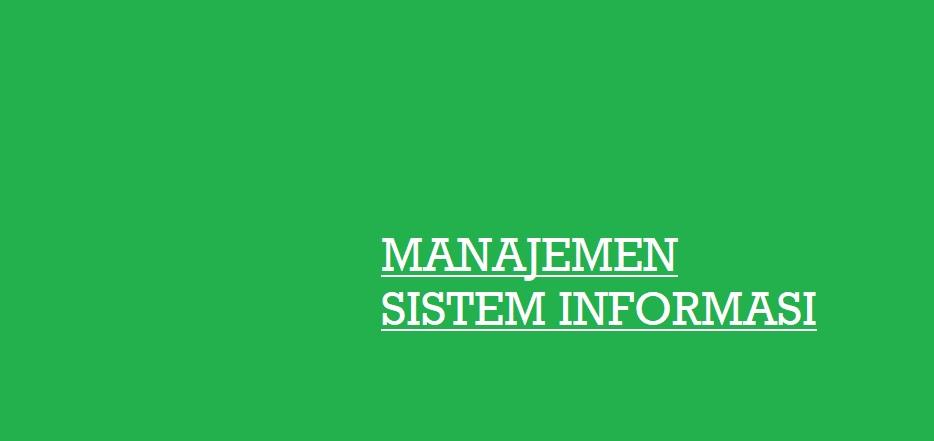 Manajemen Sistem Informasi Dalam Ilmu Marketing