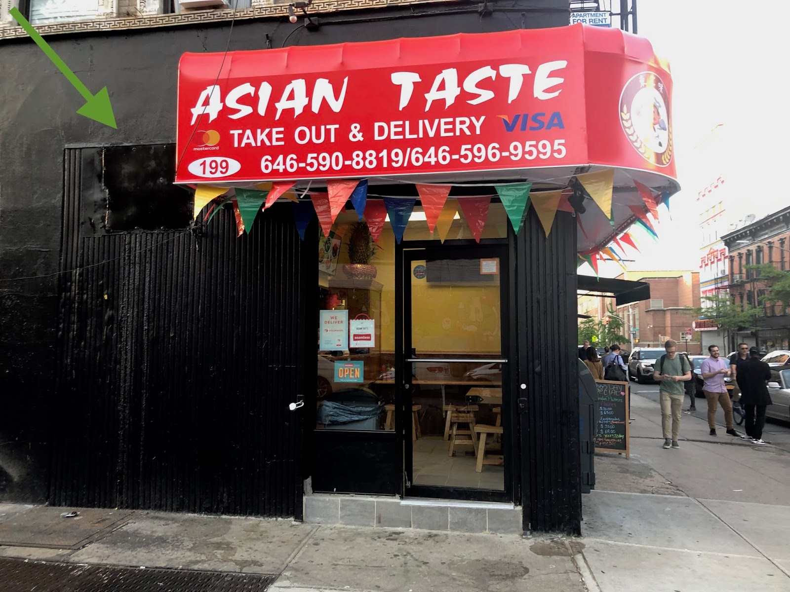 Ev Grieve Asian Taste Opens On 3rd And B