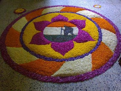 Onam Pookalam Designs Gallery