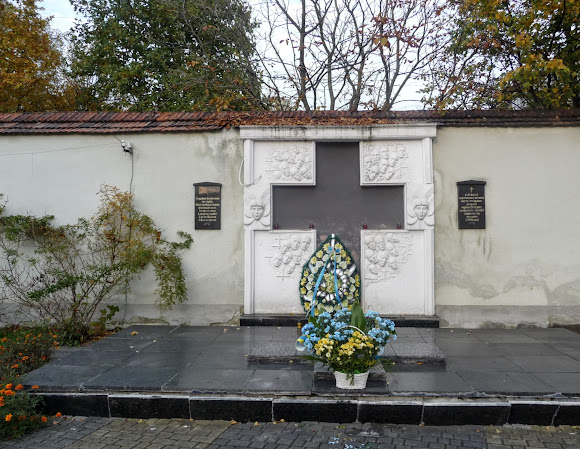Стрый. Мемориальный комплекс Борцам за волю Украины