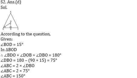 Important Triangle Questions For RRB ALP CBT 2 : 19th