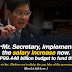 Senators Call to Diokno to Implement the Salary Increase Now