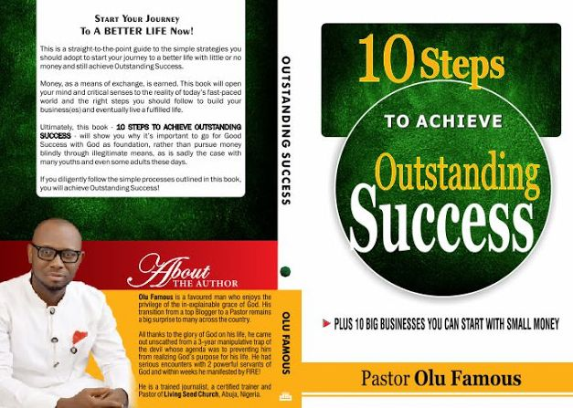 Pastor Olu Famous BOOK Is Now On Sale... Delivery Is Free