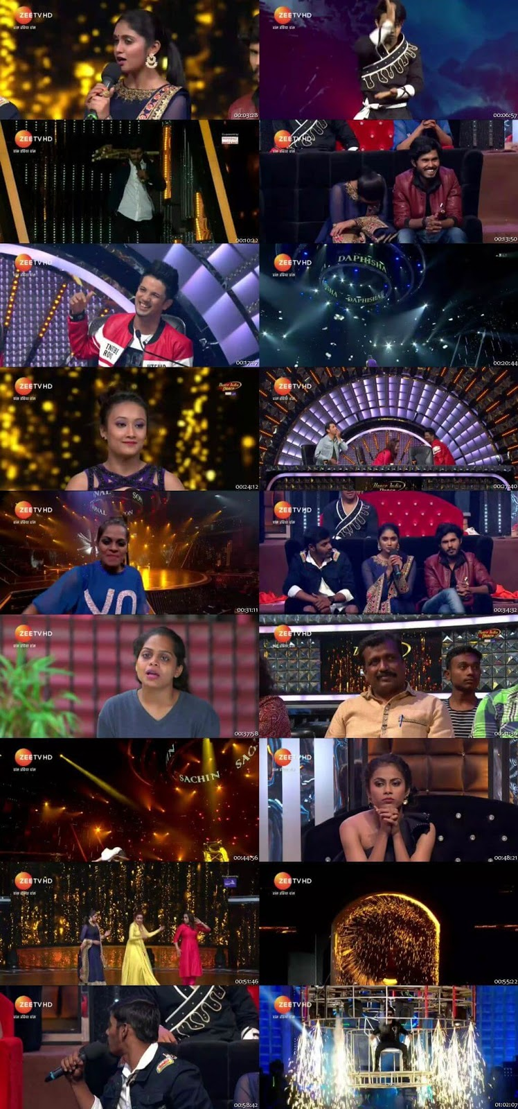 Dance India Dance 6 24 December 2017 Episode 16 HDTV 480p