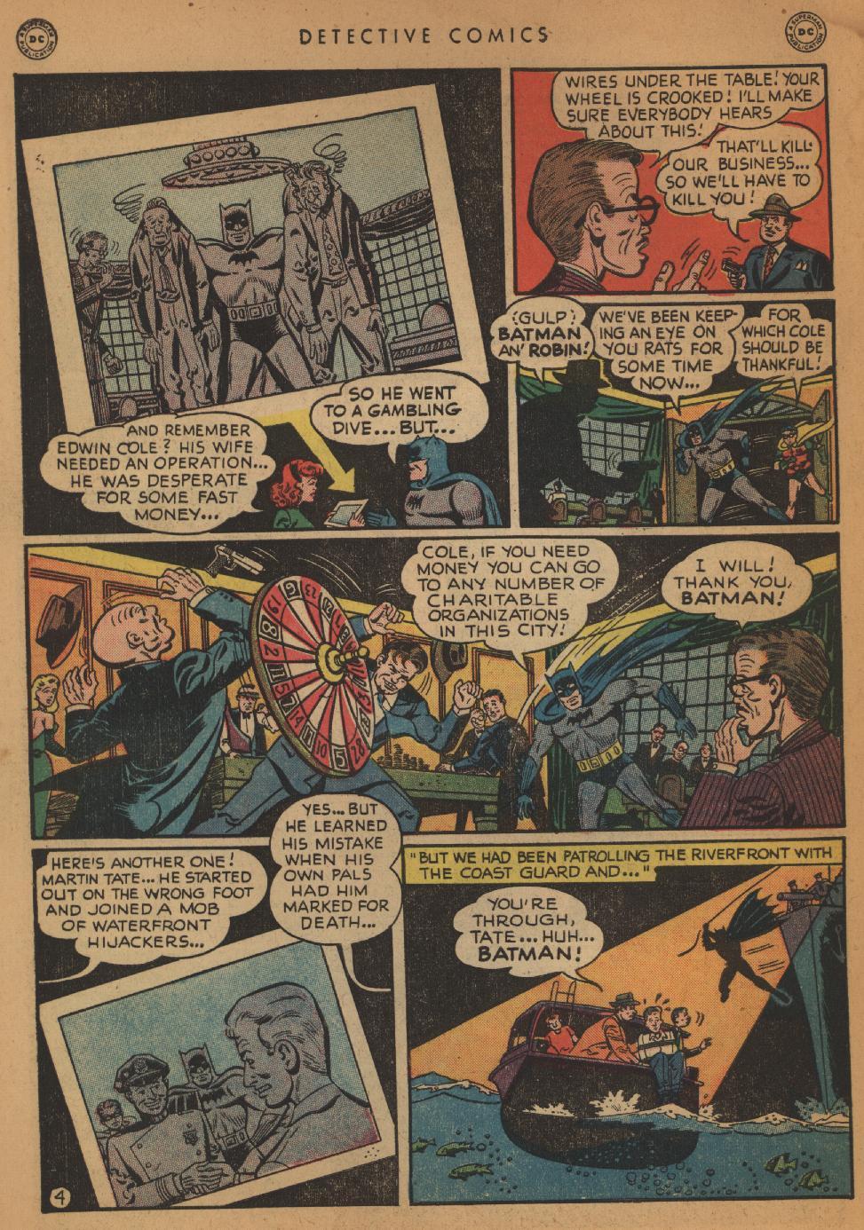 Read online Detective Comics (1937) comic -  Issue #152 - 6