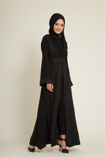 model abaya hitam terbaru