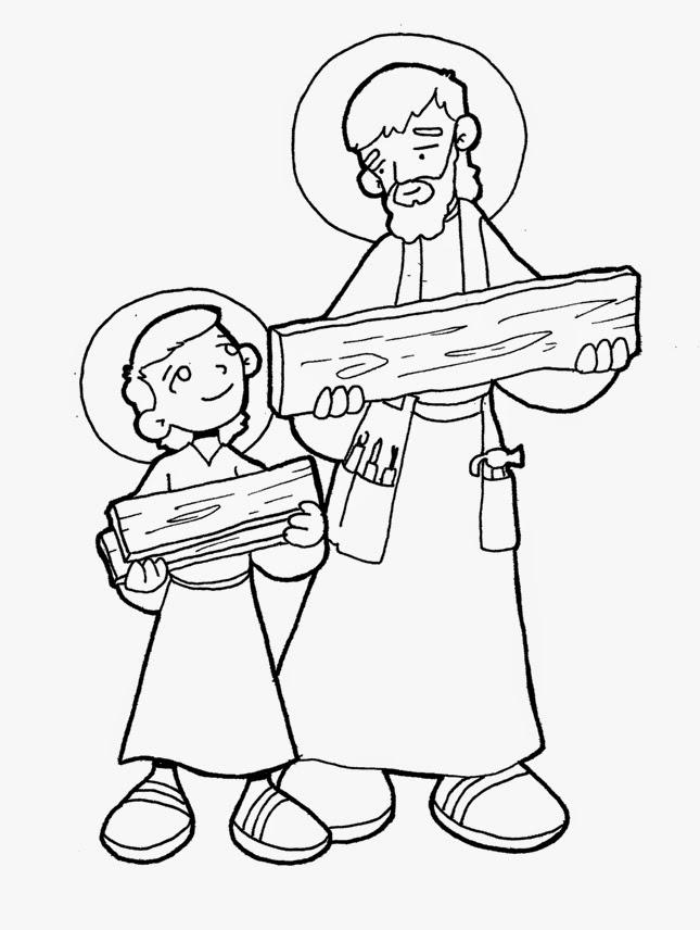 Resultado de imagen para Dibujos de San José