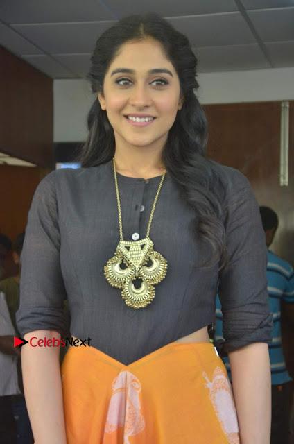Actress Regina Candra Stills at Maanagaram Movie Press Meet  0006.jpg