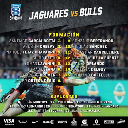 Equipo confirmado para la vuelta de Jaguares a Vélez