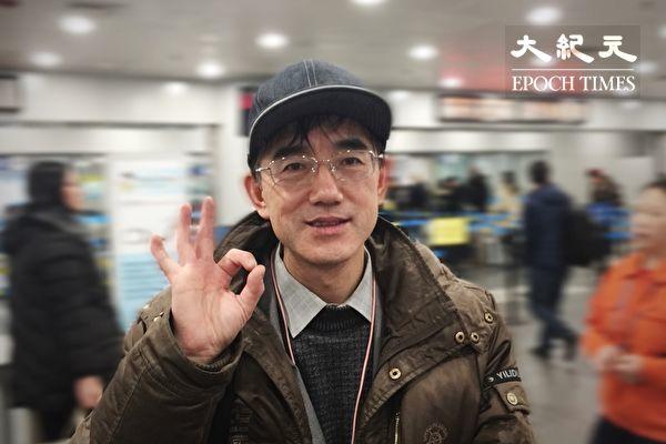 (上图) 孙毅在北京的留影(孙毅提供)