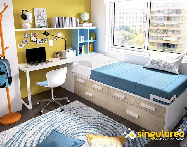 dormitorios juveniles modernos Valencia y Puerto Sagunto