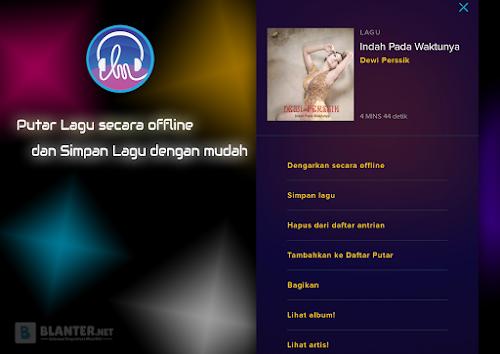 Putar Lagu secara offline di Langit Musik