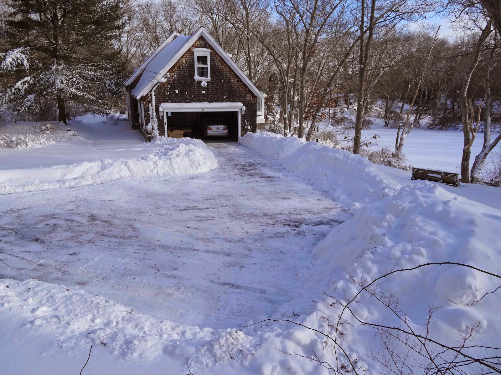 Joe's Retirement Blog: After The Blizzard, Manomet