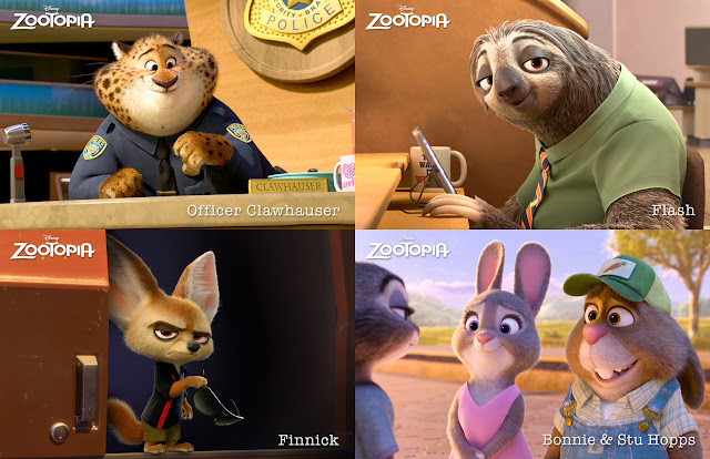 zootopia voice cast