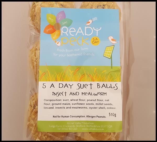 Suet Balls for encouraging birds in the garden