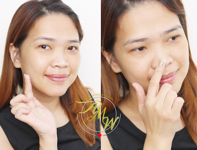 a photo on how to apply Dearberry Magic Oil Control Primer