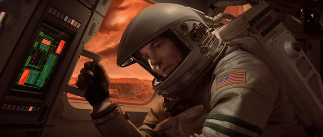 Checking Mars ascent vehicle - Mission to Mars movie image