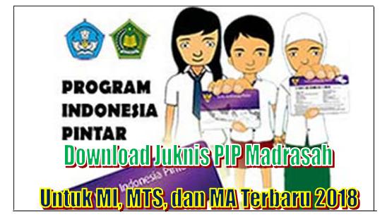 Juknis PIP Madrasah Untuk MI, MTS, dan MA Terbaru 2018