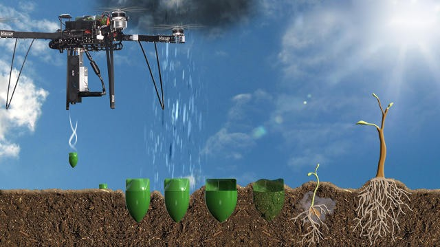 Ex-NASA engineer to plant one billion trees a year using drones
