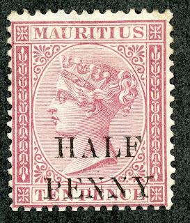 Big Blue 1840 1940 Mauritius