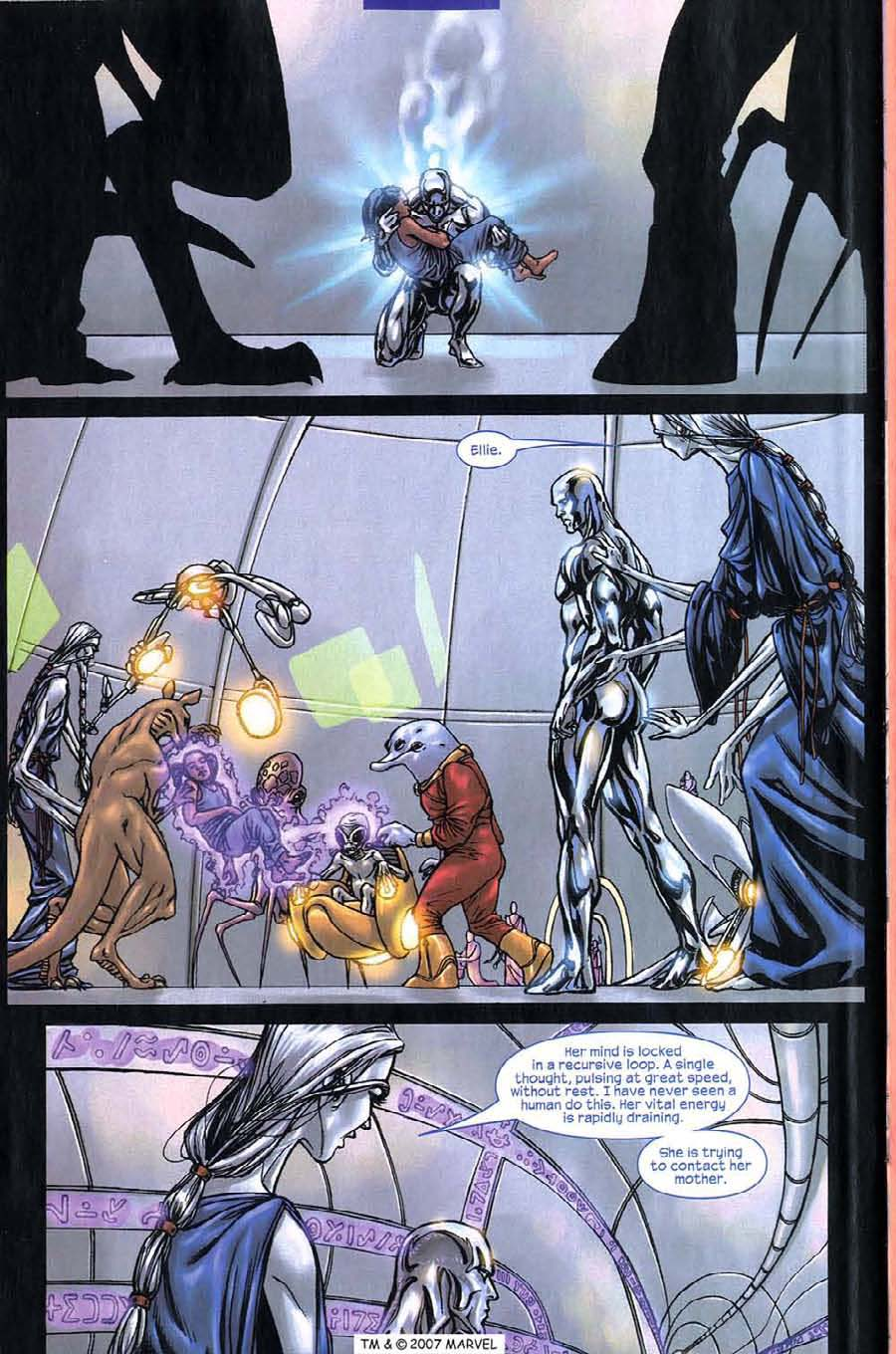 Read online Silver Surfer (2003) comic -  Issue #5 - 24
