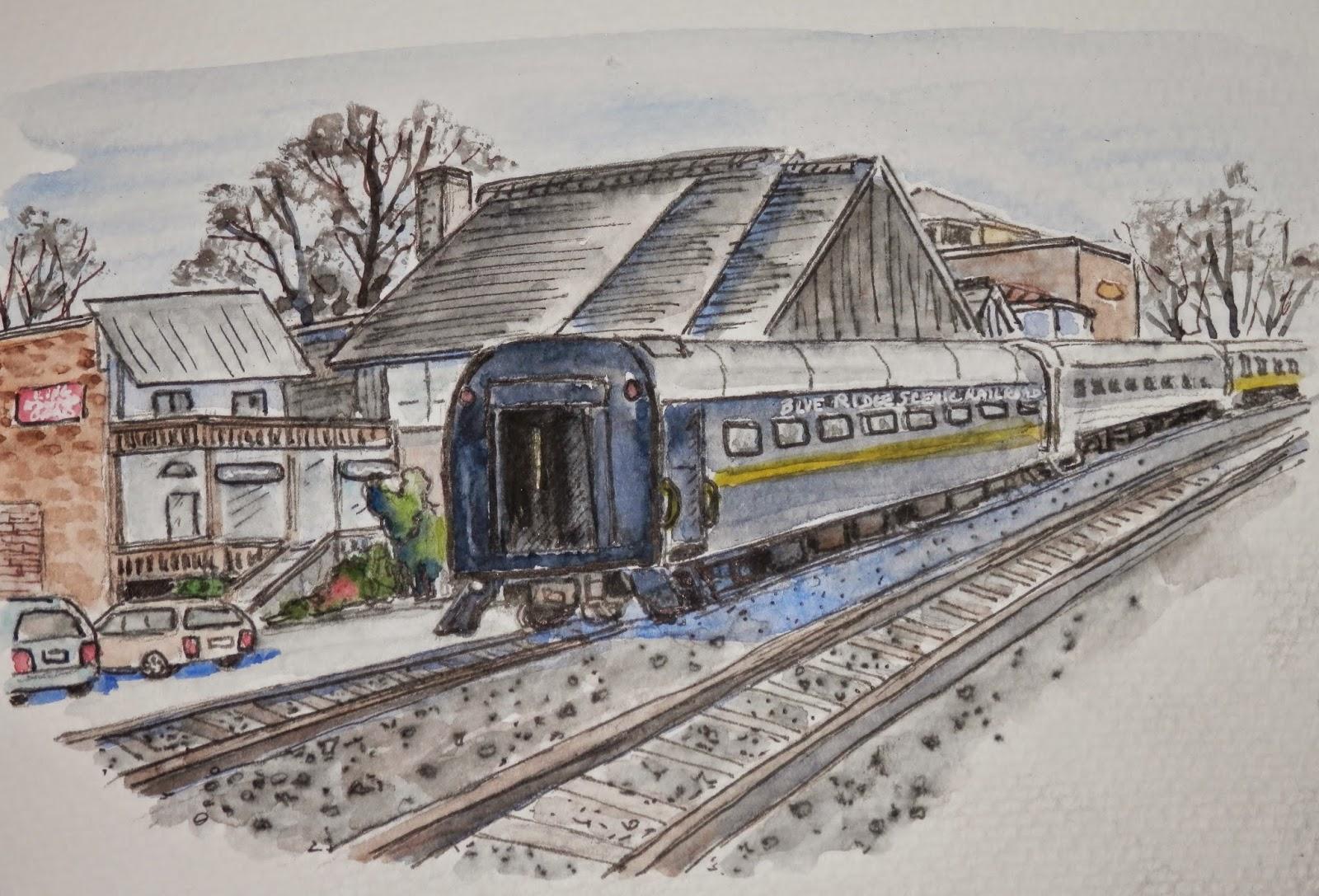 Blue Ridge Scenic Railroad 34